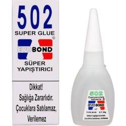 EVOBOND - 502 SUPER GLUE / SÜPER YAPIŞTIRICI