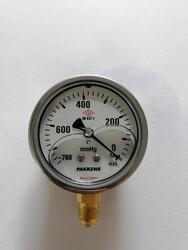 - Çap 100 Alt Çıkış Gliserinli Vakummetre