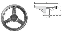 LEVEL - EDV SERİSİ Döküm Makina Çarkları (Krom Kaplamalı)