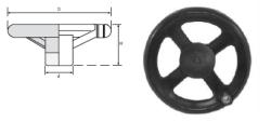 LEVEL - EPV2 SERİSİ Döner Kollu Plastik Makina Çarkları