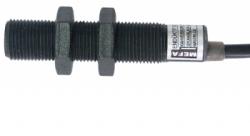 MEFA SENSÖR - M 18 DC 3/4 Kablolu Geniş Algı. Mesafeli Endüktif Sensör PLASTİK SERİ (M12 SOKETLİ)