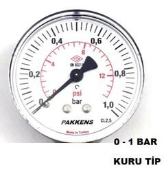 PAKKENS - Çap 63 Arka Çıkış Pano Kuru Tip Manometre